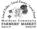 logo for matthews nc farmers market