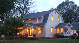 small town bed breakfast near charlotte nc