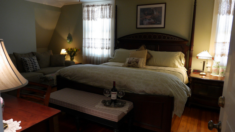 bed breakfast with king bed charlotte nc