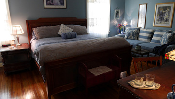 bed breakfast king bed matthews nc